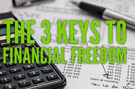 3 keys to financial freedom